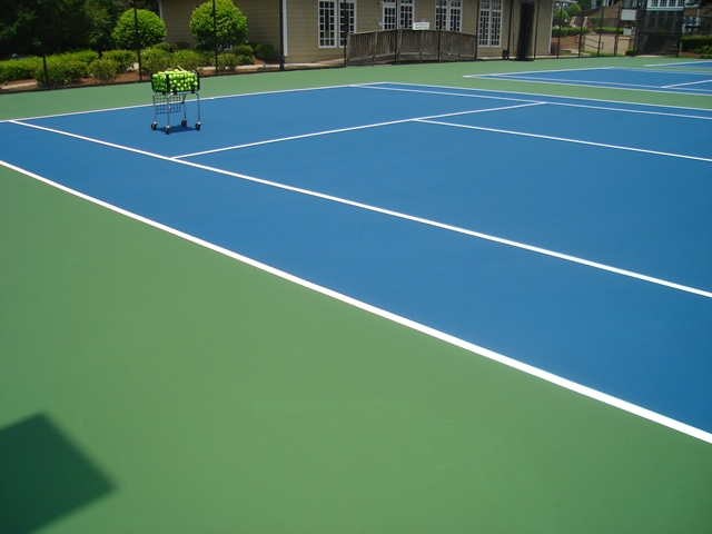 Tennis Court Resurfacing And Repair Norfolk Virginia Beach