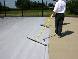Cushioned Tennis Court Surfaces | Tennis Court Resurfacing
