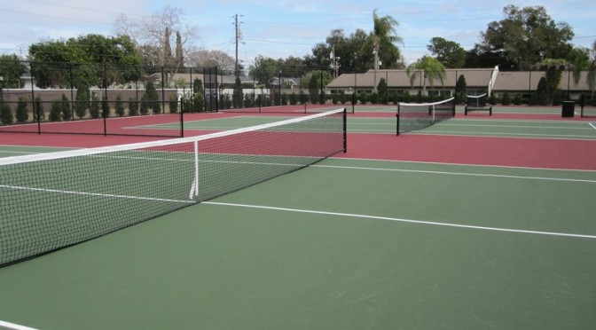 Florida Tennis Court Resurfacing