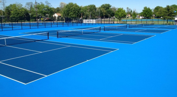 Illinois Tennis Court Resurfacing and Repair