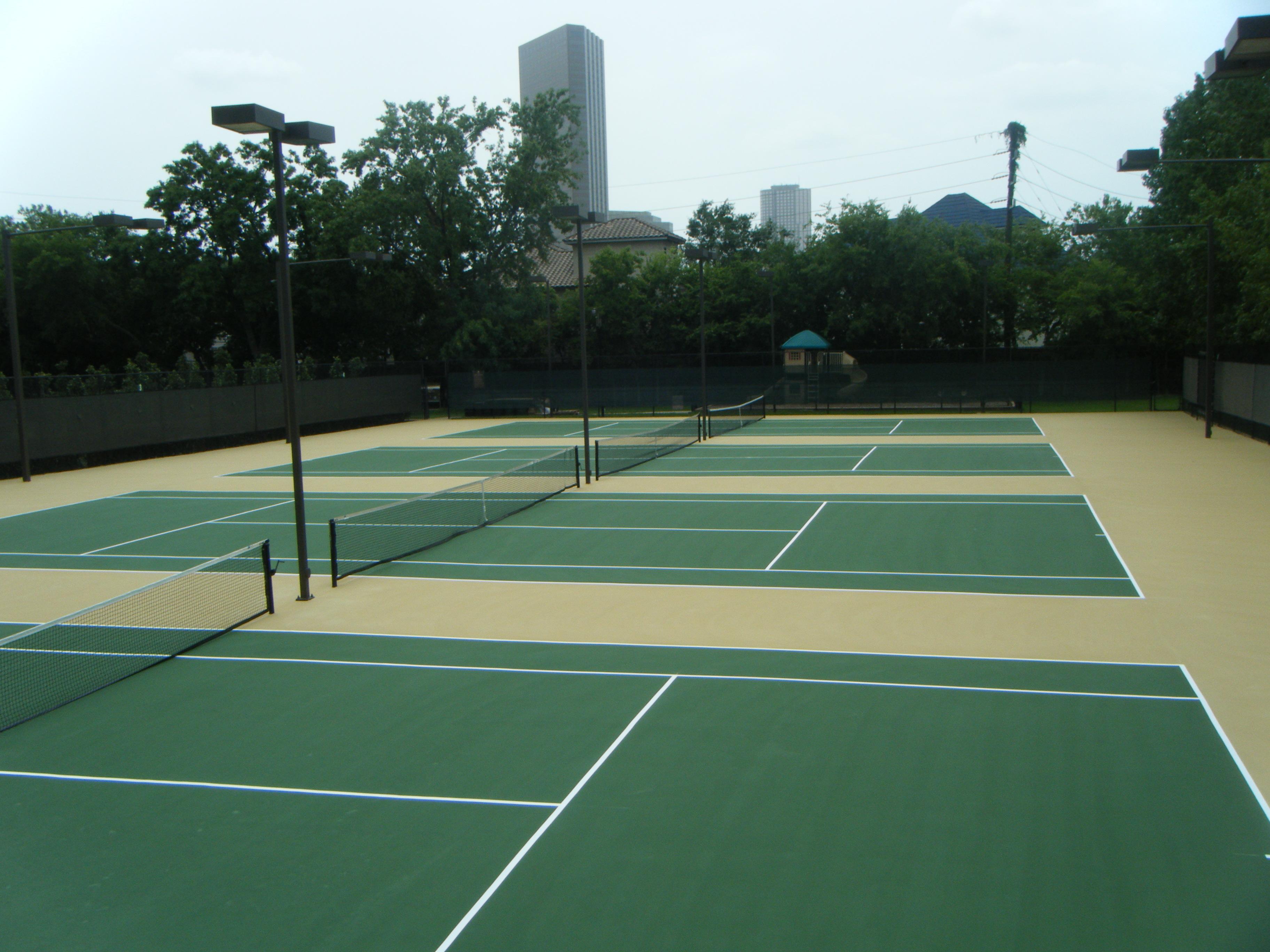 Best Tennis Court Resurfacing And Repair Houston Texas