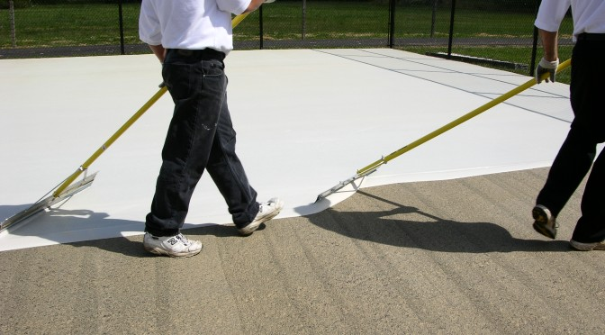 Neutral Acrylic Resurfacer | SportMaster Sport Surfaces