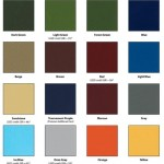 SportMaster Tennis Court Colors