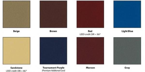 SportMaster Tennis Court Colors