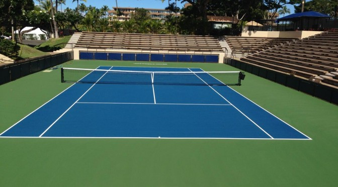 Image result for Tennis court resurfacing