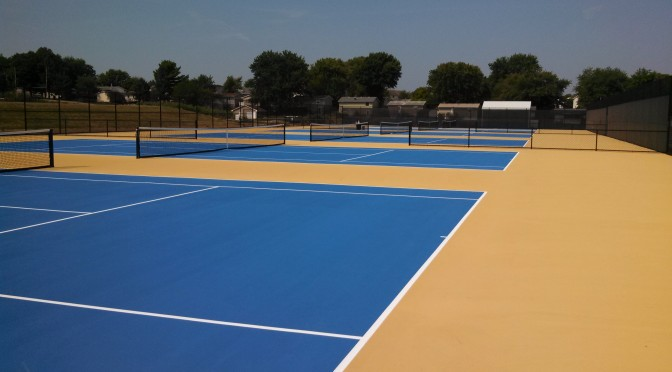 Tennis Court Resurfacing and Repair in Chicago IL