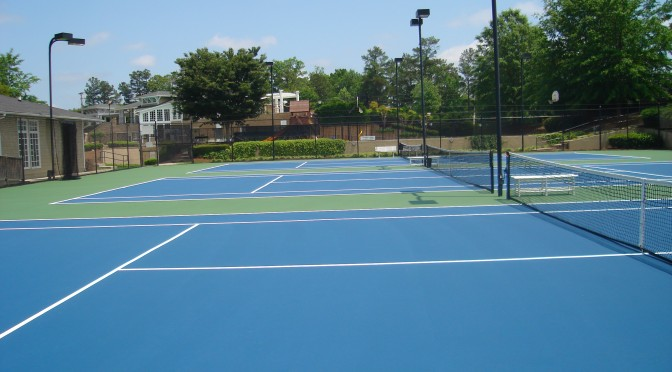 Tennis Court Resurfacing and Repair in Georgia