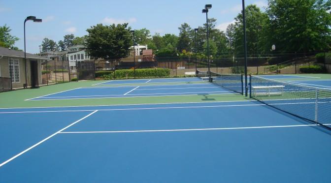 Tennis Court Resurfacing and Repair in Georgia