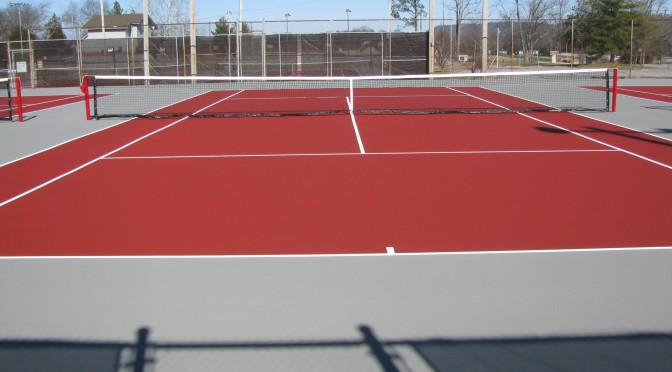 Tennis Court Resurfacing in Boston MA