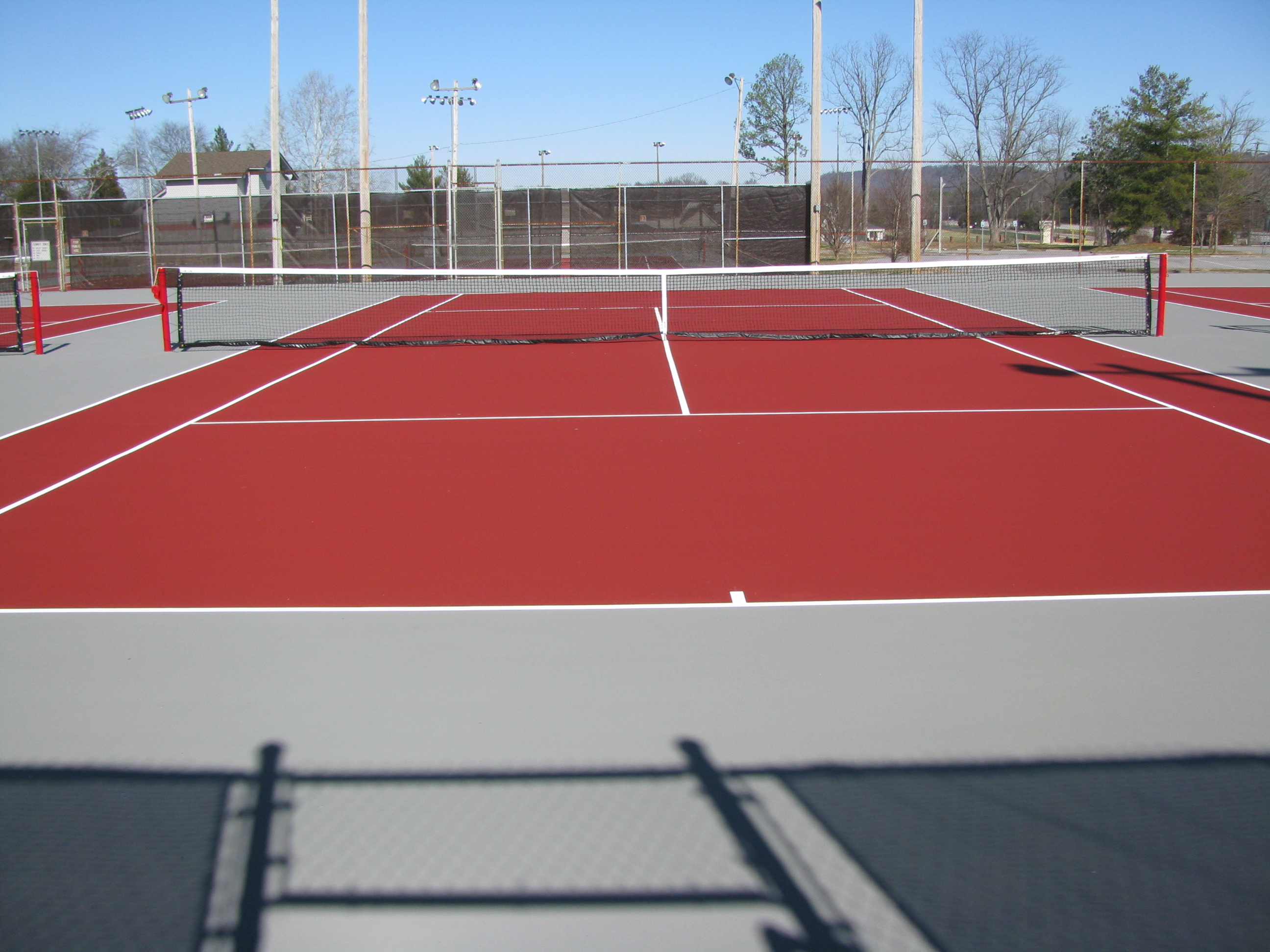 Concrete Pickleball Court Bing Images