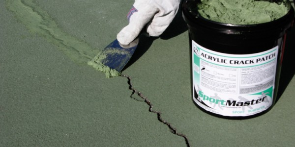 Acrylic Crack Patch Green | Tennis Court Crack Filler
