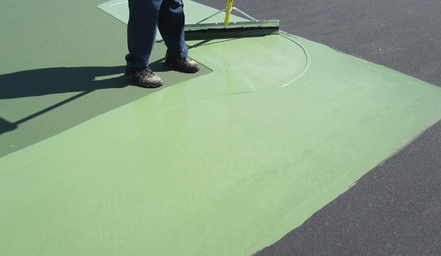 Delaware Tennis Court Resurfacing