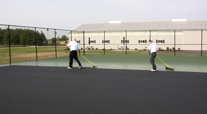 Maryland Tennis Court Resurfacing and Repair