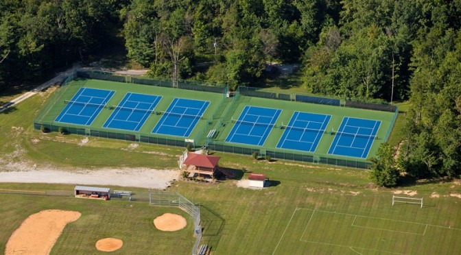 Mid Atlantic Tennis Court Resurfacing
