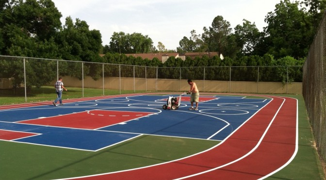 Tennis Court Resurfacing in Oklahoma