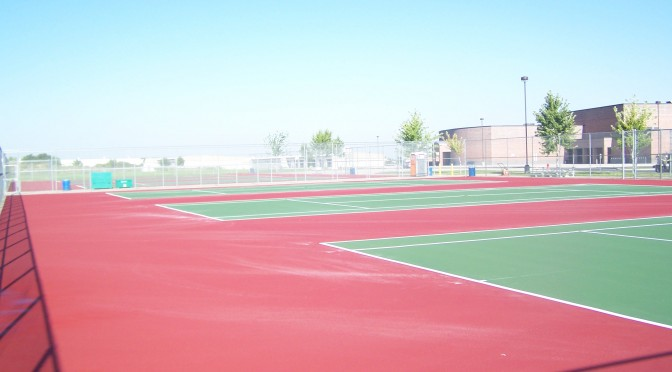 Pacific NW Tennis Court Resurfacing