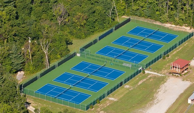 Tennis Court Resurfacing and Repair in St Louis