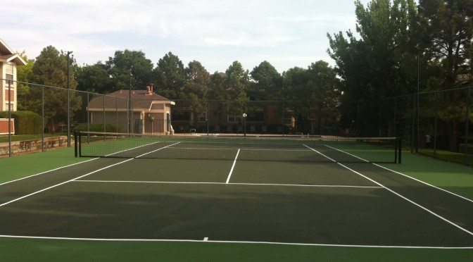 Tennis Court Resurfacing in Colorado