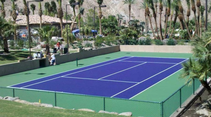 California Tennis Court Repair and Resurfacing