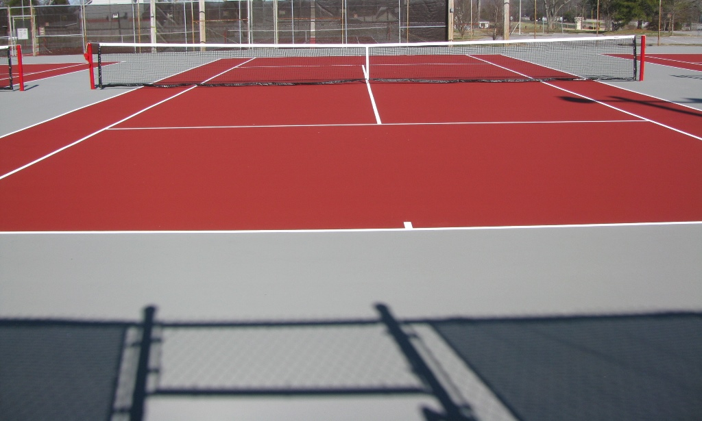 Tennis court resurfacing and repair in indiana for Basketball court cost estimate