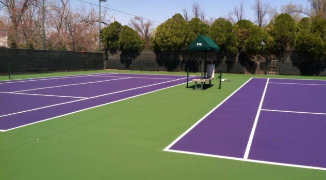 Tennis Court Resurfacing in Tulsa OK