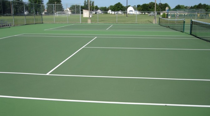 Tennis Court Resurfacing in Fairfield County CT