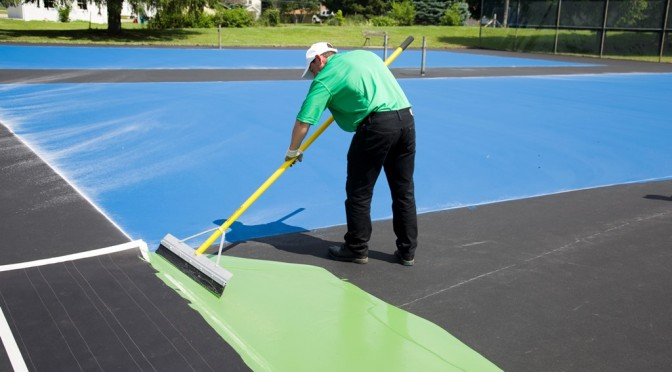 Tennis Court Resurfacing in Cleveland OH