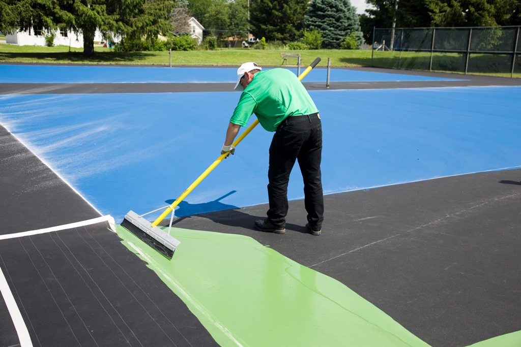 Tennis Court Resurfacing Repair Cleveland Oh