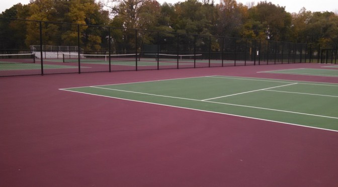 Tennis Court Resurfacing Philadelphia PA