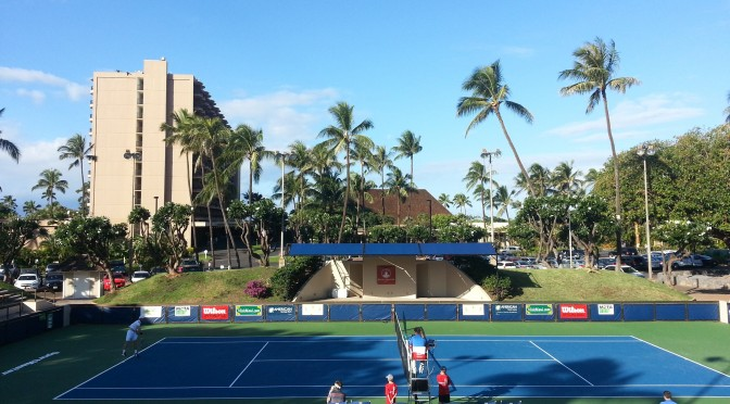 Tennis Court Resurfacing Hawaii
