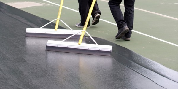 Acrylic Resurfacer On Existing Tennis Court