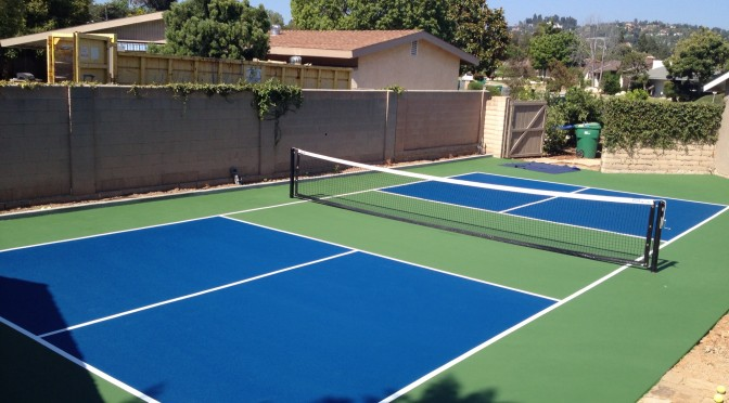 Pickleball court surfaces archives tennis court resurfacing for Basketball court construction cost