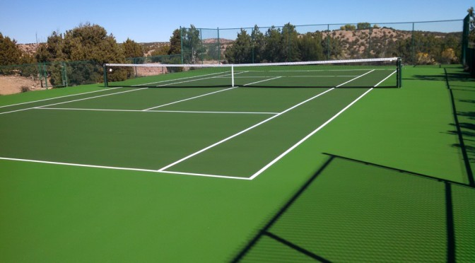 Tennis Court Resurfacing Amarillo TX