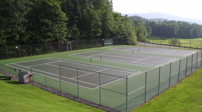 Tennis Court Resurfacing & Repair Maine