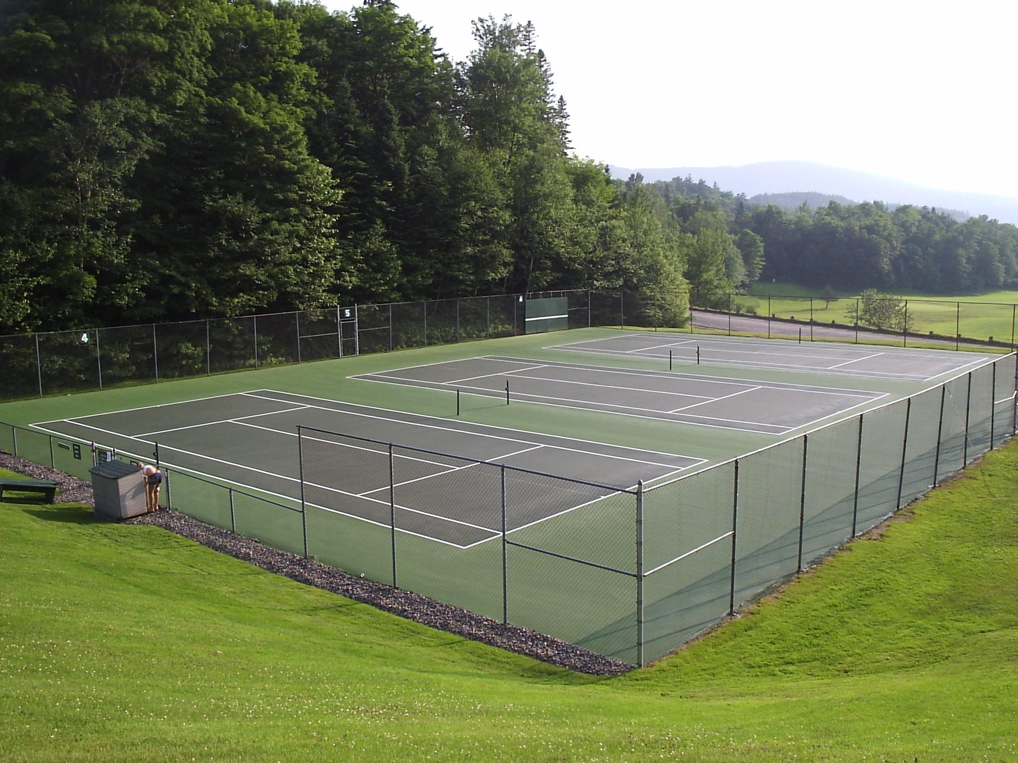 tennis court resurfacing u0026 repair maine