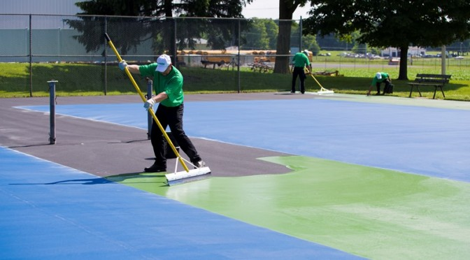 Tennis Court Resurfacing & Repair Portland OR