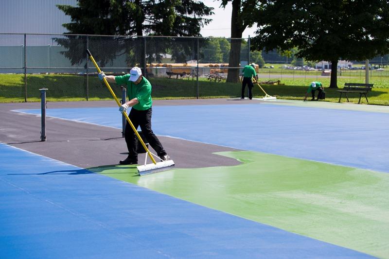 Tennis Court Resurfacing Repair Portland Northern Or