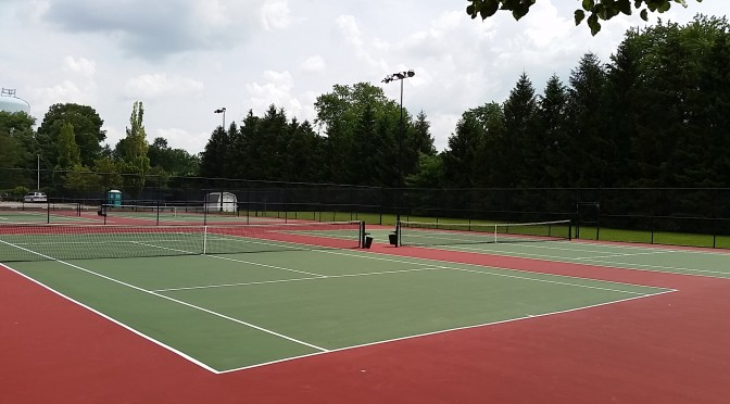 Tennis Court Resurfacing Columbus OH