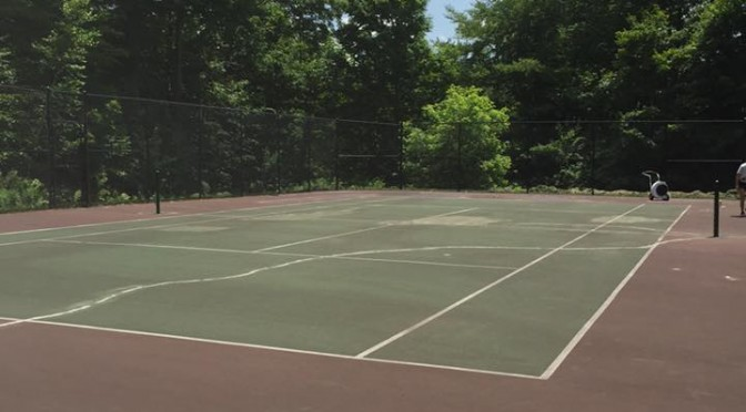 Tennis Court Restoration