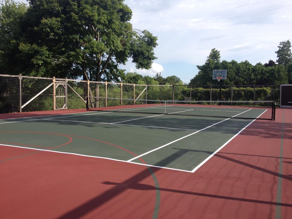 Tennis and Basketball Court Vermont