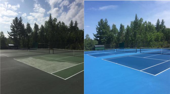 Tennis Court Resurfacing New Hampshire