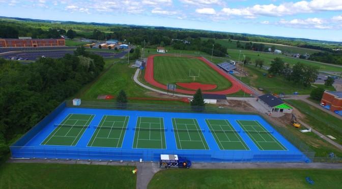 Tennis Court Resurfacing Michigan