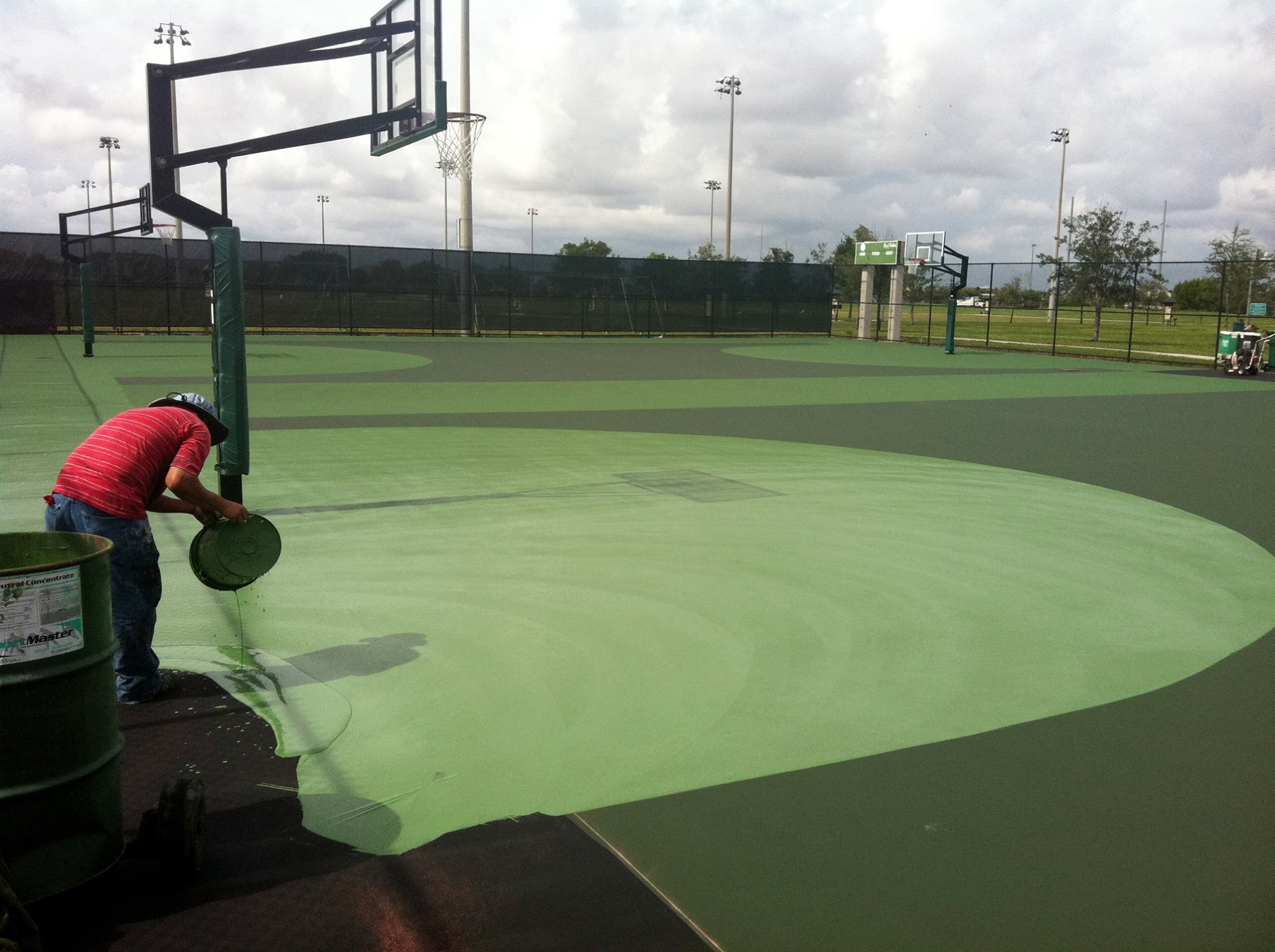 Basketball Court Resurfacing Mobile AL