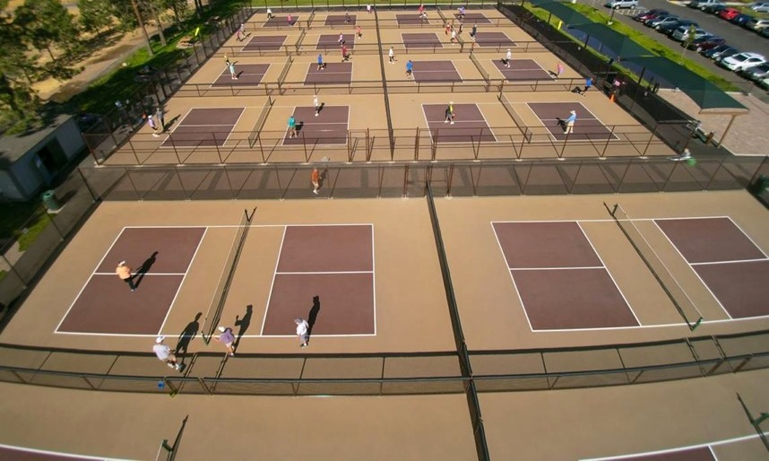 Pickleball Court Paint Florida
