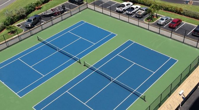 Tennis Court Resurfacing Jacksonville FL