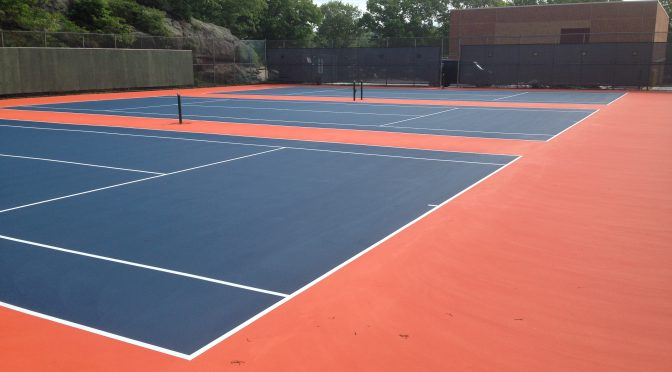 Boise Idaho Tennis Court Resurfacing