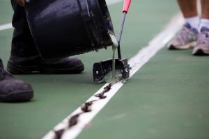 Tennis Court Crack Repair Boise ID