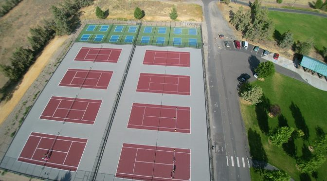 How To Paint A Pickleball Court
