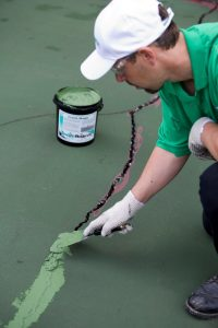 Tennis Court Crack Repair Spokane WA