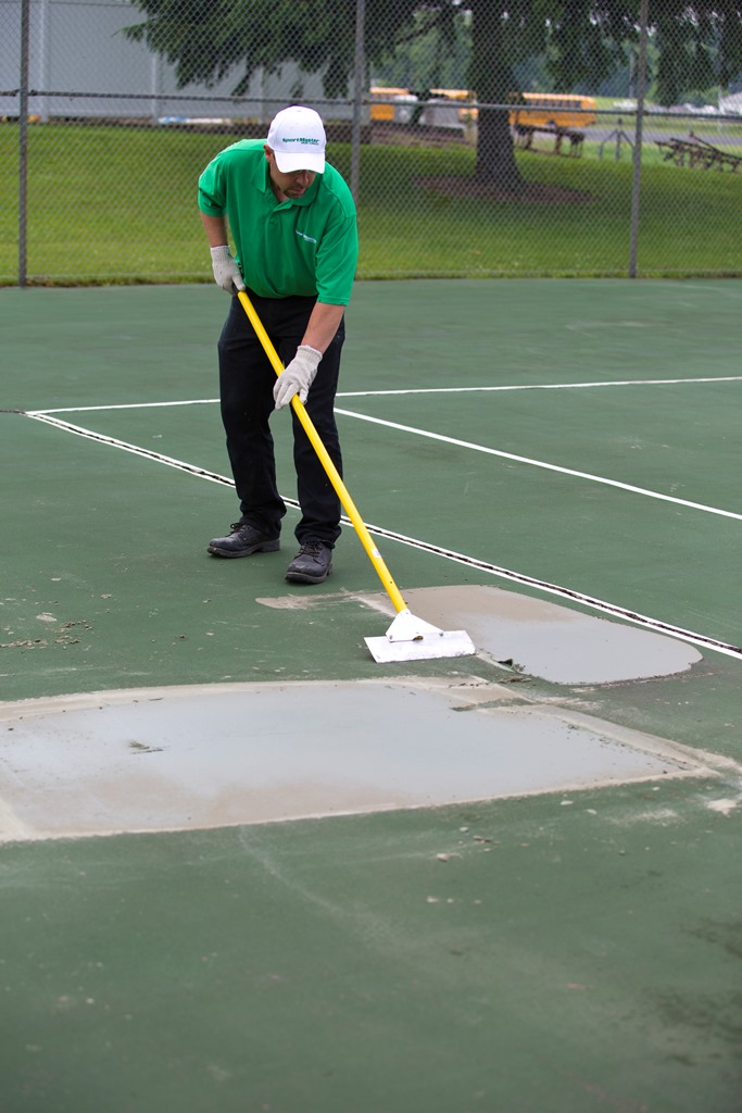 Tennis Court Patching Kansas City